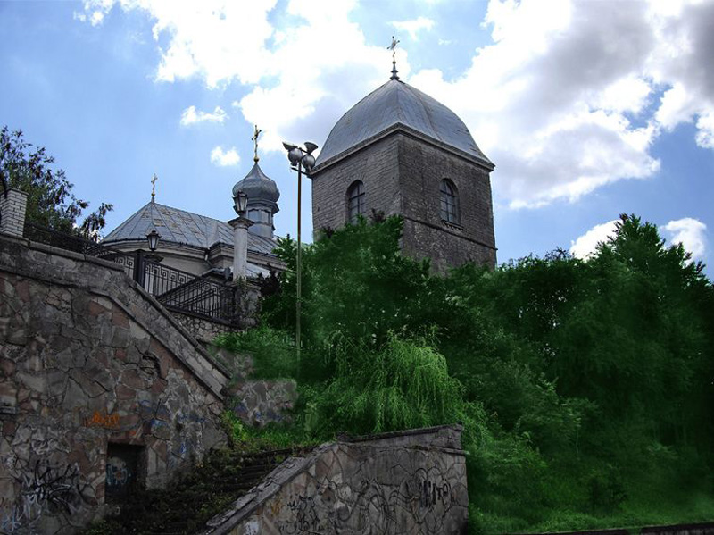 Воздвиженська церква. Архітектурна пам'ятка