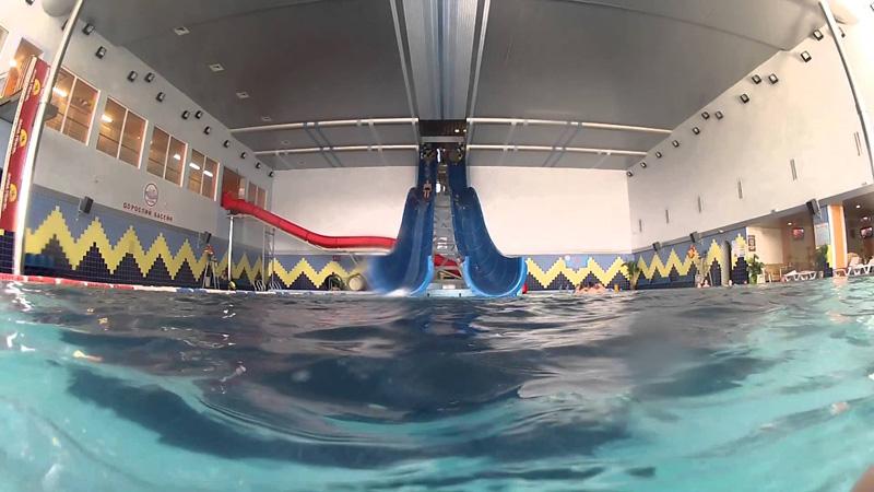 Вражаючий дорослий басейн аквапарку «Лімпопо». Тернопіль