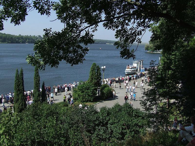 Так Тернопільський став переходить у парк ім. Шевченка