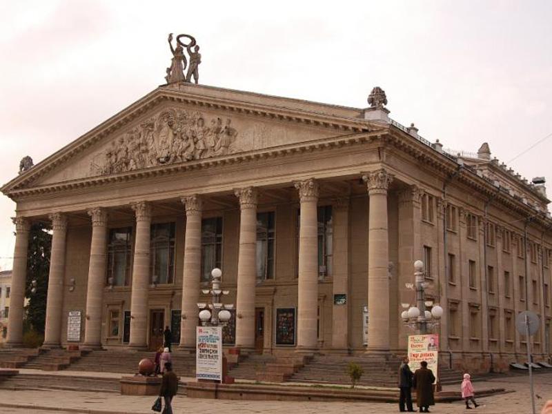Театр ім. Шевченка. Тернопіль