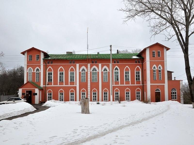 Музей знаходиться у колишньому маєтку графа Подгорічані.