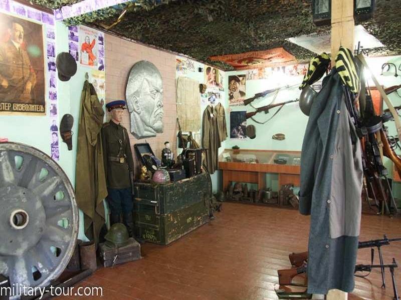 Зал, присвячений Другій Світовій війні.