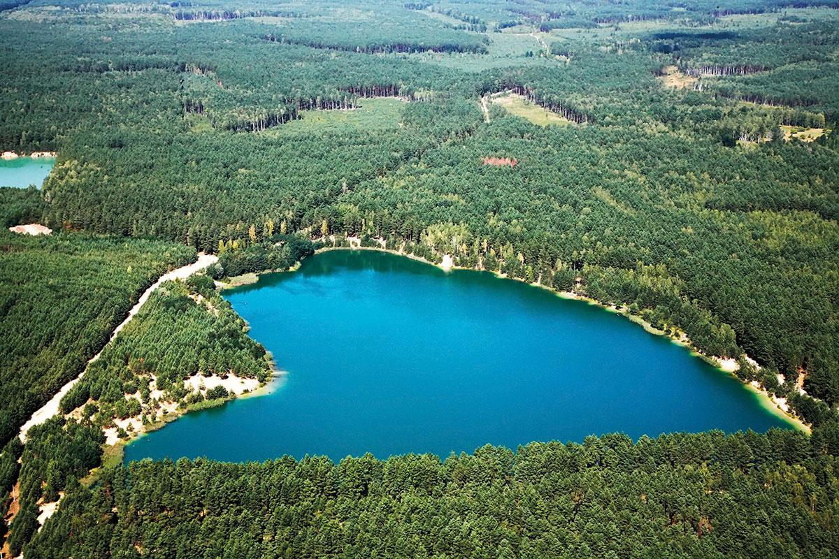 Блакитні озера на Чернігівщині
