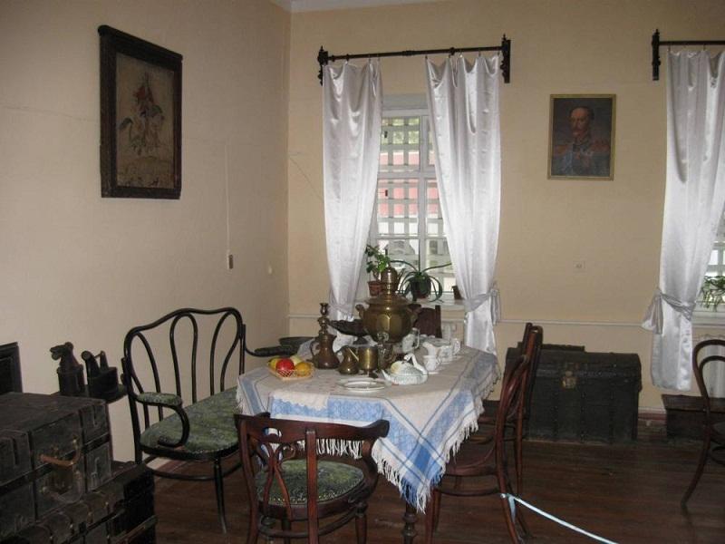 Интер'єр кімнати для приїжджаючих