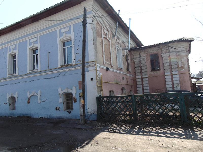 Вид на двір «грецької» частини будинку