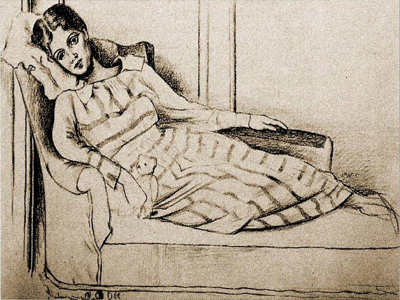 Портрет Ольги, написаний Пікассо в рік їхнього знайомства